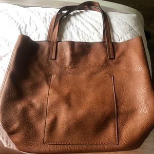 Nordstrom brown leather tote